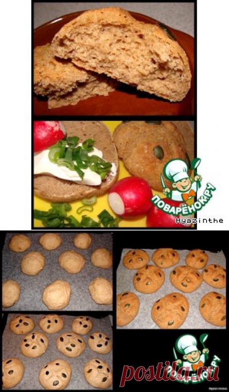 Гречневые булочки – кулинарный рецепт