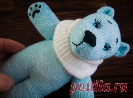 Непарные носочки и перчатки - в дело! Как вместе с детьми научиться создавать милейших зверей и кукл-перевертышей   Живые вещи   Яндекс Дзен