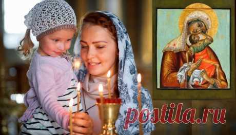20 ноября День иконы «Взыграние младенца». Действенный обряд для женщин, которые хотят забеременеть