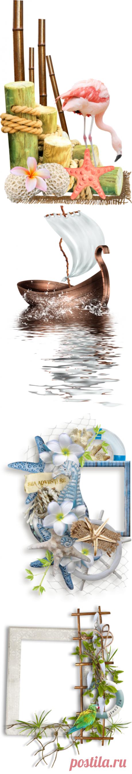 Клипарт - морская тема...