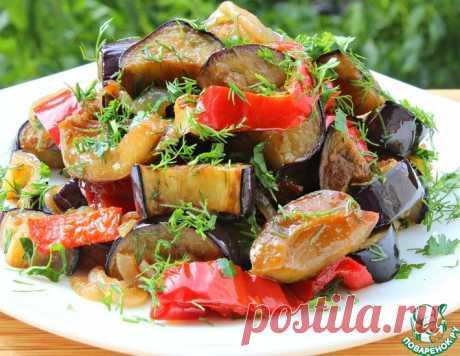 Нескучный салат с баклажанами – кулинарный рецепт