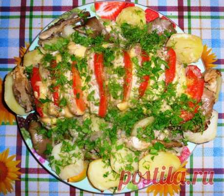 Свинина «Гармошка» Прекрасное ароматное и очень сытное блюдо свинина «Гармошка» подойдет для праздничного стола или для романтического ужина. Пикантную нотку этому блюду придает горчичный маринад.  Ингредиенты: — 800 гр…