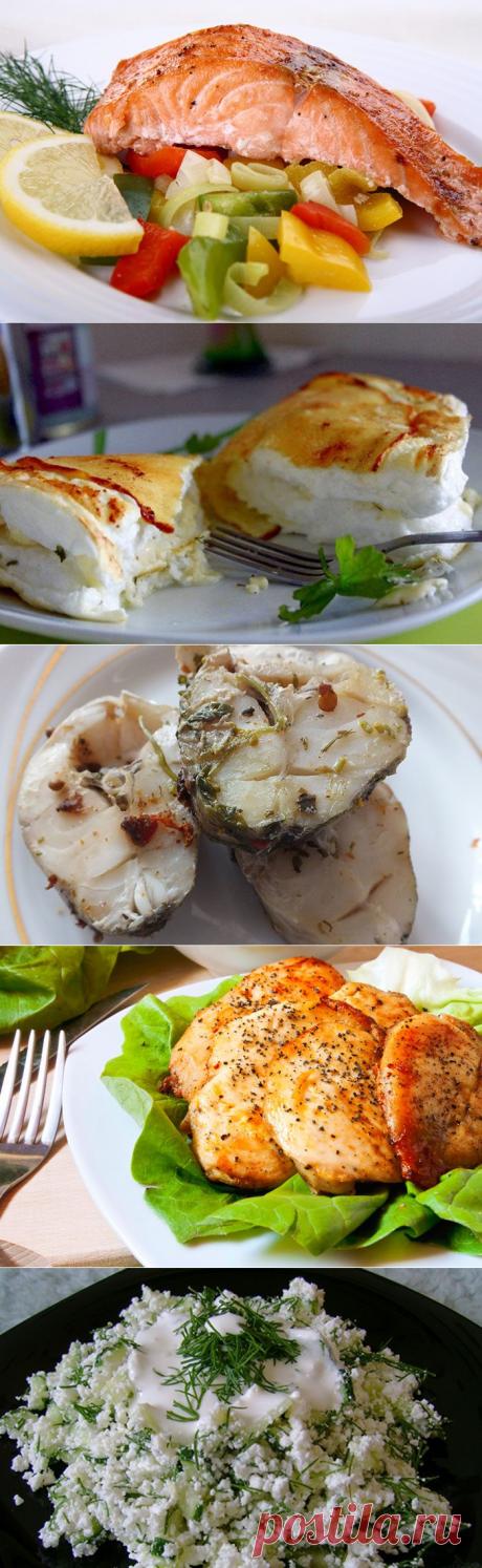 20 вариантов ужина для тех, кто на диете / Будьте здоровы