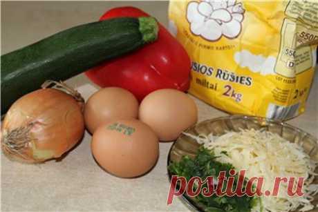 Оладьи из кабачков с болгарским перцем и сыром | Домашний Ресторан