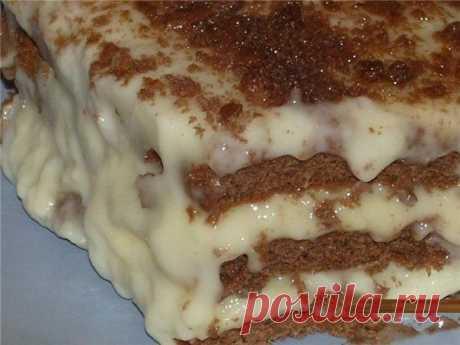Шустрый повар.: Быстрый торт из печенья