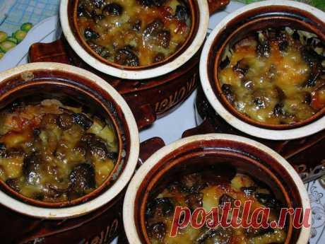 Cientas recetas de ostentación en gorshochkah. La cocina de casa.