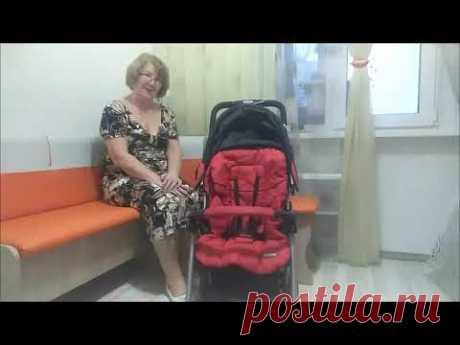 Как сложить и разложить детскую коляску