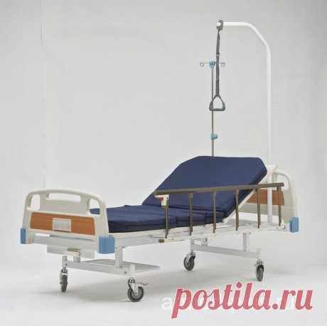 Кровать медицинская RS-11A Armed, функциональная | АРМЕД ПЛЮС