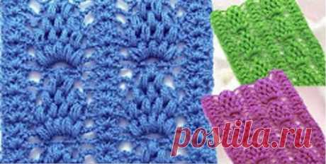 Pineapple Puff Stitch Video Tutorial - Crochet Ideas Figuring out how to create this amazing stitch is difficult, that is why we have selected very helpful and interesting video tutorial for you. This stitch is called Pineapple Puff  Stitch. This stitch is distinguished by its originality and charm. It clearly shows the character and texture of your yarn. You can use it in making lots of different items, such as scarfs, tops, sweaters, hats, boleros and so on. The video in...