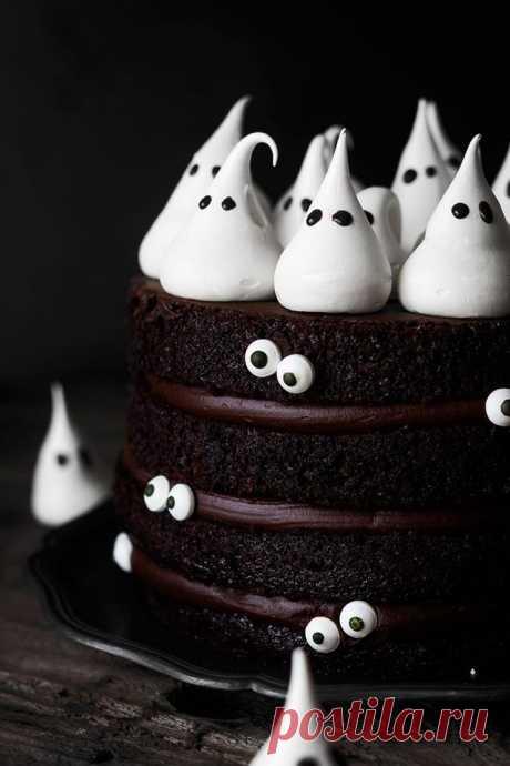 Хеллоуинский торт