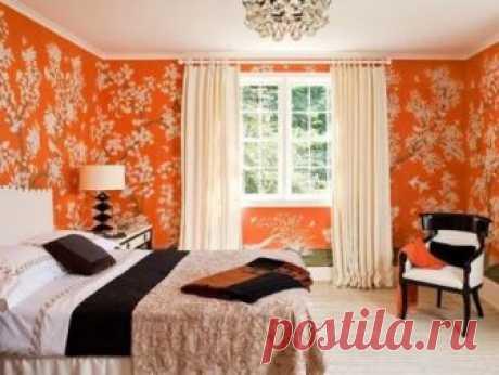 Оранжевые обои в интерьере комнаты: сочетания, правильный выбор Как выбрать оранжевые обои для оформления интерьера комнаты, сочетание оттенков обоев оранжевого цвета, для каких комнат и стилей подойдет дизайн в оранжевых тонах.