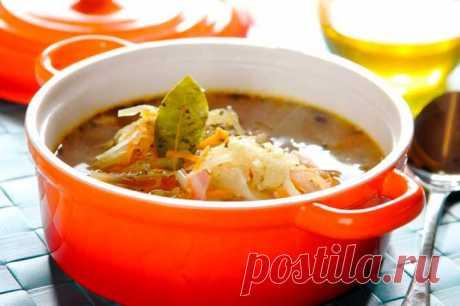 Как приготовить вкусные щи из капусты – пошаговый рецепт с фото.