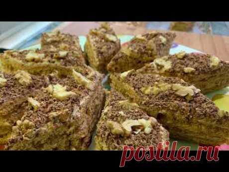 Медовый торт Изаура   Honey cake Izaura   Թխվածք Իզաուռա