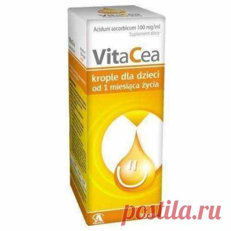 VITACEA drops 30ml for infants from 1 months, vitamin c drops for infants, babies