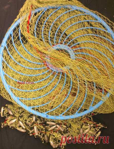 АЗОВ СЕТИ   Кастинговая сеть с большим кольцом капрон (azovseti.ru)  Номер тел--8-909-431-19-92 Почта -- box@azovseti.ru