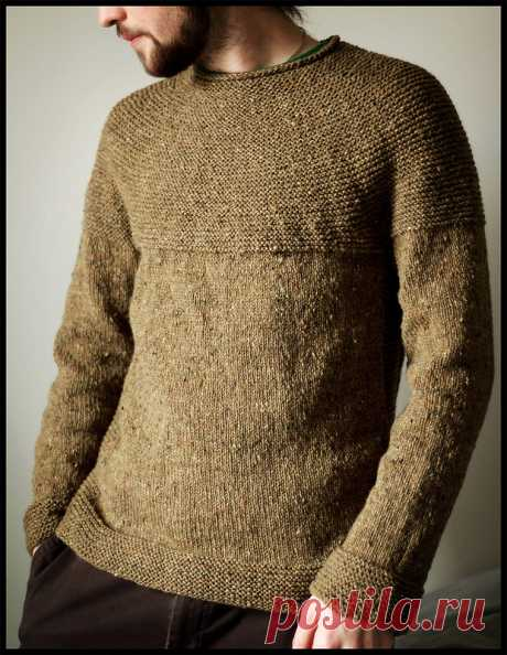 Cobblestone Pullover by Jared Flood