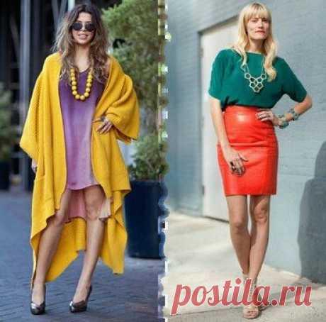 Как правильно сочетать цвета в одежде (Мода и стиль) — Журнал Вдохновение Рукодельницы