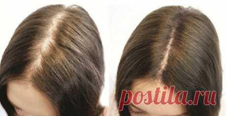 ~ Как остановить выпадение волос — эффективное домашнее средство!