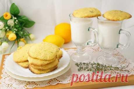 Кукурузно-лимонное печенье — Sloosh – кулинарные рецепты