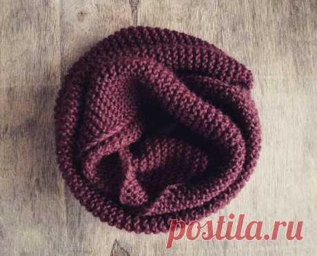 3 самых простых, но эффектных узоров для вязания снудов и шарфов. | Вязалкина | Яндекс Дзен