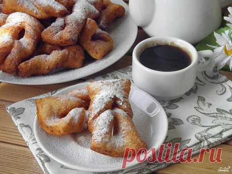 Вергуны на творожном тесте - пошаговый кулинарный рецепт с фото на Повар.ру