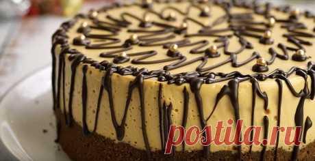 Домашний торт «Наслаждение»: «бомбический» десерт на все случаи!