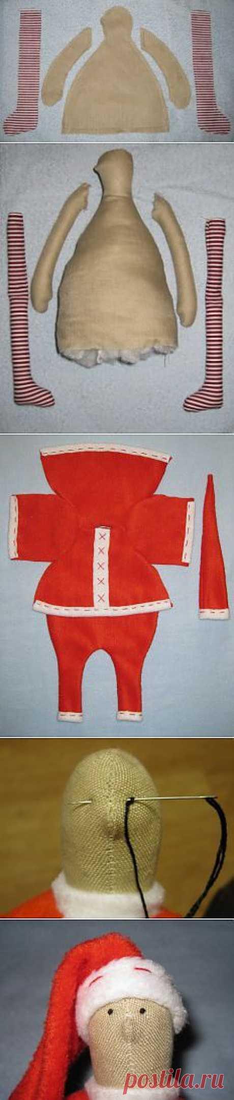 Дневник рукодельницы » Blog Archive » Дед Мороз (Тильда)