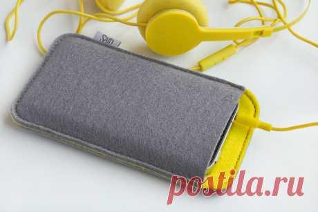 Чехлы ручной работы Safo Felta Gray для телефонов iPhone, HTC, Samsung