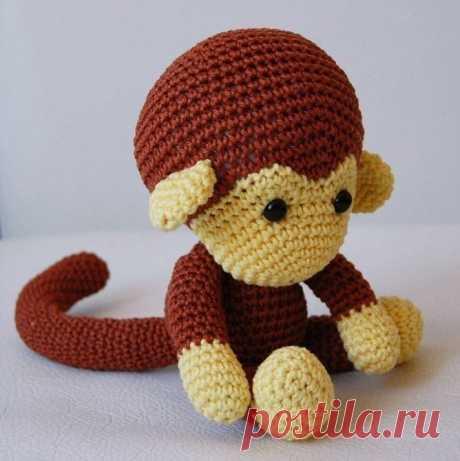 Вяжем обезьянку!