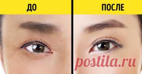 """Японская техника омоложения кожи вокруг глаз, которая занимает всего 1 минуту - Женский журнал """"Красота и здоровье"""""""