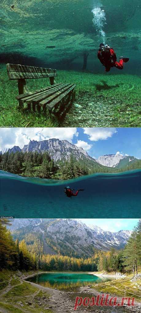 Подводный парк зеленого озера — Природа — Релакс!