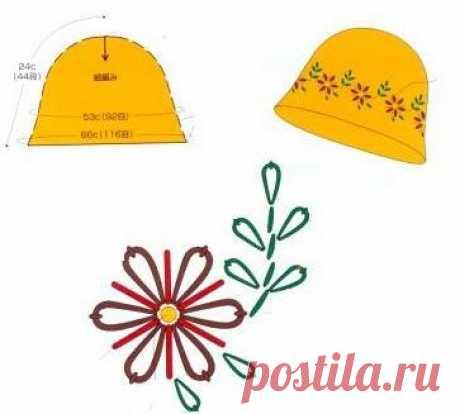 Легкие и нарядные шляпка и сумка из рафии — Делаем руками