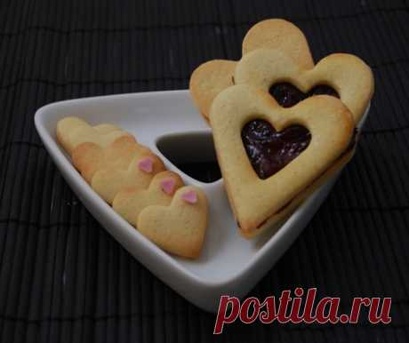 Печенье День святого Валентина