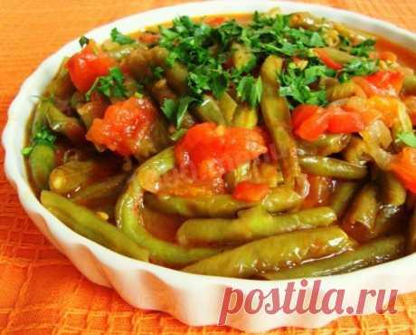 Зеленая фасоль тушеная с овощами по-португальски рецепт с фото пошагово - 1000.menu