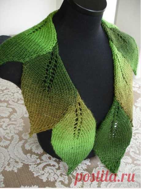 шарф листьями схема - Поиск в Google