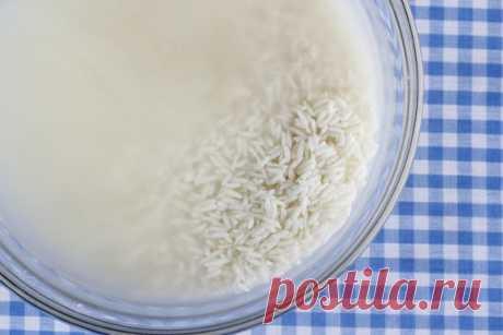 Рисовая водапоможет Похудеть, очистить кожу, восстановить волосы!