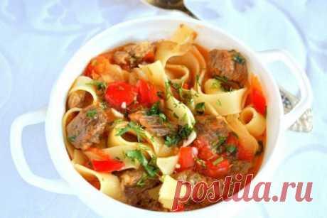 Вкуснейший домашний лагман из телятины — Sloosh – кулинарные рецепты
