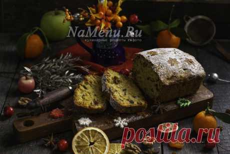 Английский рождественский кекс от Джейми Оливера.