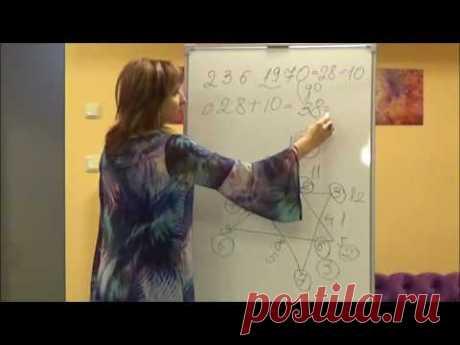(8) Нумерология. Астрограмма. Сложные даты рождения, пример. - YouTube