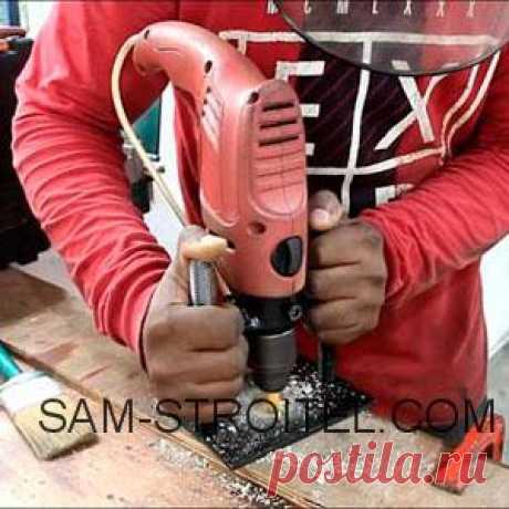 Самодельный фрезер сделанный из дрели (21 фото и описание изготовления) Самодельная насадка фрезер для дрели, фото и описание изготовления самодельного приспособления.