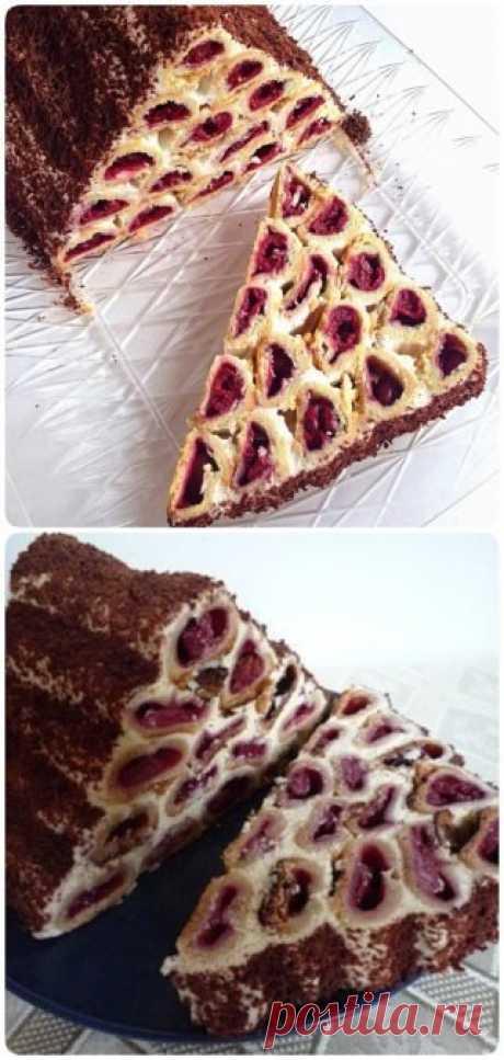 Необычайно вкусный торт «Монастырская изба» — из блинов с нежнейшей начинкой