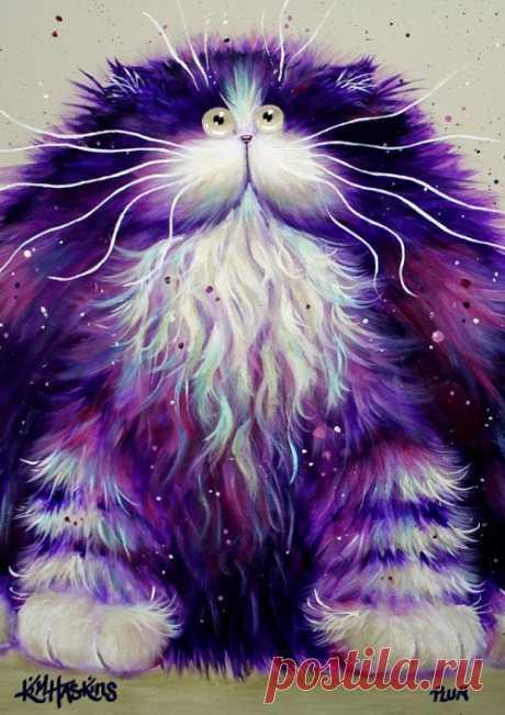 Забавные кошки Ким Хаскинс