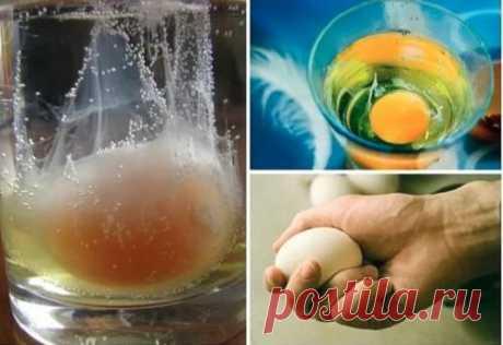 Снятие негатива с человека и лечение несложных болезней сырым яйцом