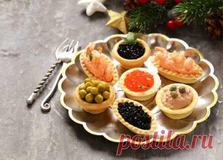 Новогодние рецепты: начинки для тарталеток на Новый год