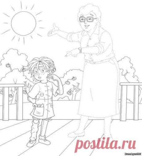 sitio29 - Соединяем по точкам - Дошкольное развитие ребенка - БумАгушки - детские раскраски и многое другое