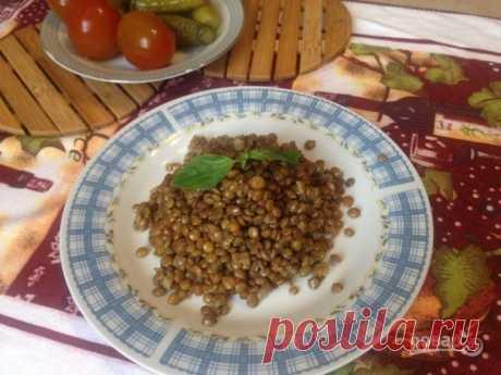 Чечевица с имбирем и лимонной цедрой - пошаговый рецепт с фото на Повар.ру