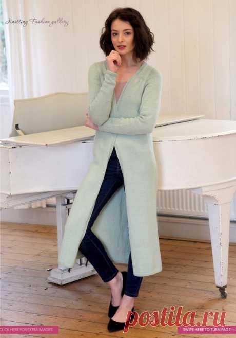 Пальто Longline от Sian Brown - Вяжи.ру