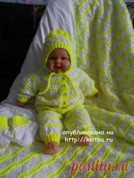 Комплект для малыша – работа Оксаны, Вязание для детей