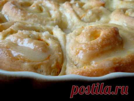 Fragrant and air orange rolls