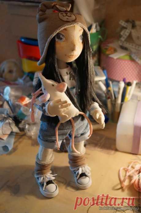 Создание текстильной куклы Лорочки. Часть 1 МК - 16 Августа 2016 - Блог - Кукольная страна Татьяны Кузевановой